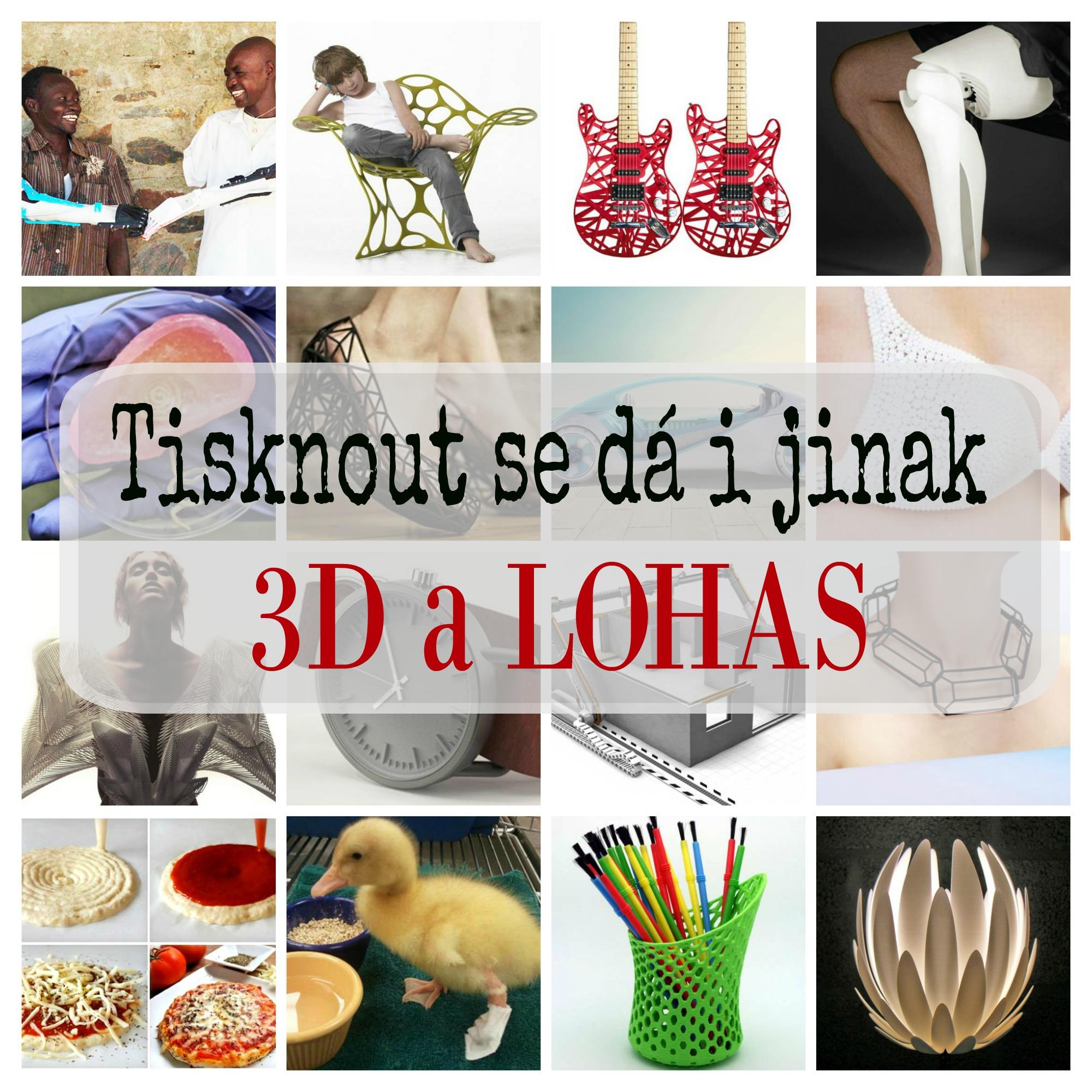 Tisknout se dá i jinak, 3D a LOHAS